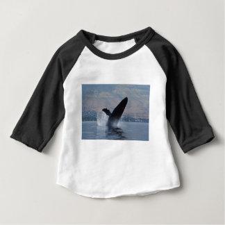 humback whale breaching baby T-Shirt