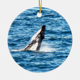 HUMBACK WHALE QUEENSLAND AUSTRALIA CERAMIC ORNAMENT