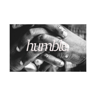 humble all over canvas print