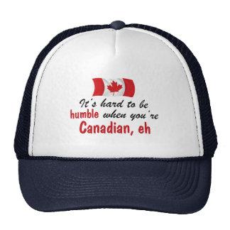 Humble Canadian Trucker Hats