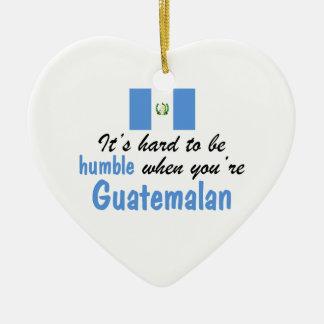 Humble Guatemalan Ceramic Ornament