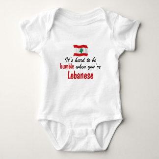 Humble Lebanese Baby Bodysuit