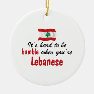 Humble Lebanese Ceramic Ornament