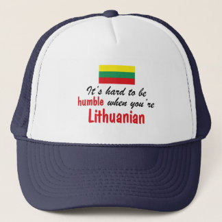 Humble Lithuanian Trucker Hat