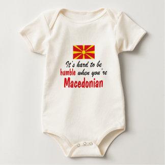 Humble Macedonian Baby Bodysuit