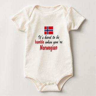 Humble Norwegian Baby Bodysuit