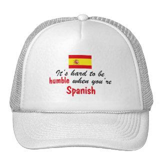 Humble Spanish Mesh Hat