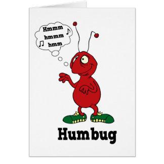 Humbug card