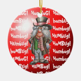 Humbug! Ceramic Ornament