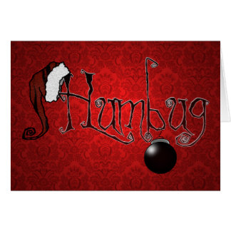'Humbug' (Red) Card