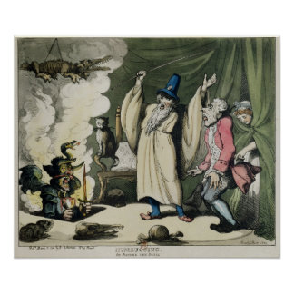 Humbugging or Raising the Devil, 1800 Poster