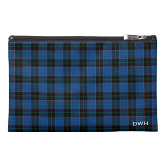 Hume Clan Tartan Monogram Travel Accessory Bag