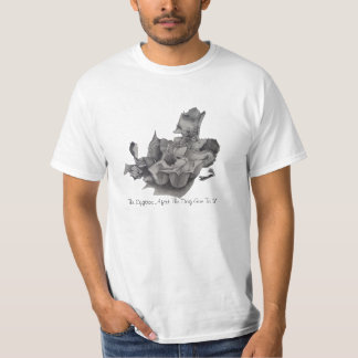 humerous still life pencil drawing original fun T-Shirt