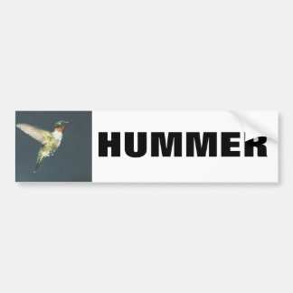 HUMMER Bumpersticker Bumper Sticker