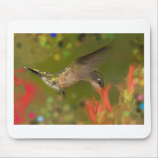 hummer drinking mouse pad