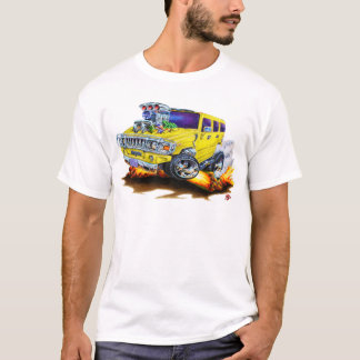 Hummer H2 Yellow Truck T-Shirt