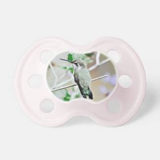 Hummer In Cartoon Baby Pacifier