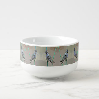 Hummer In Cartoon Soup Mug