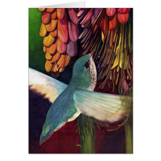 Hummer in Poker Plant Card