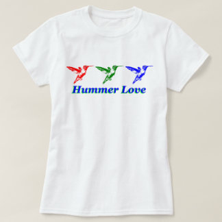 Hummer Love Hummingbird Shirt