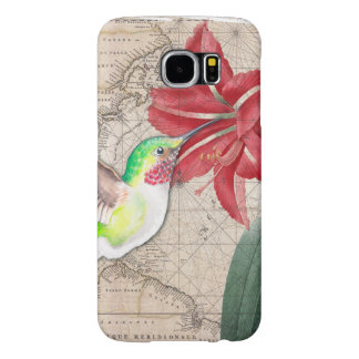 Hummer Map ammaryllis II Samsung Galaxy S6 Cases