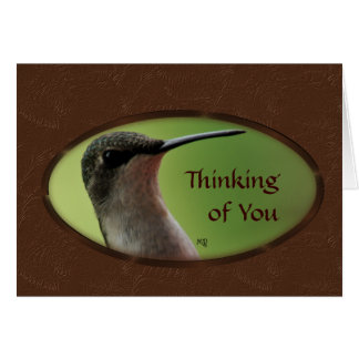 Hummer oval-customize any occasion card
