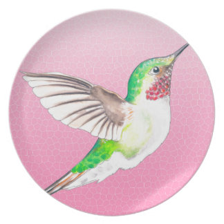 Hummer Pink Plate