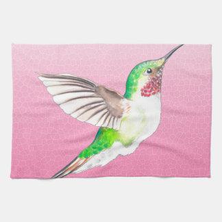 Hummer Pink Tea Towel