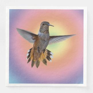 HUMMIMNGBIRD PAPER SERVIETTES