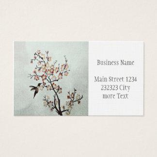 humming-bird business card