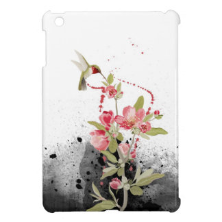 Humming bird cover for the iPad mini