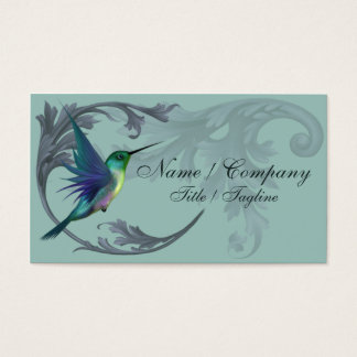 Humming Bird Elegance Business Card