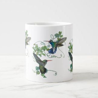 Humming Bird Flight Large Coffee Mug
