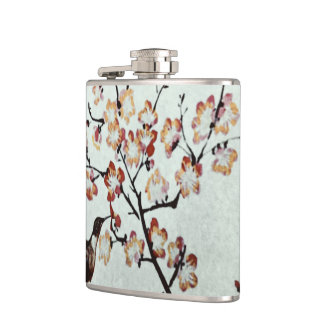 humming-bird hip flask