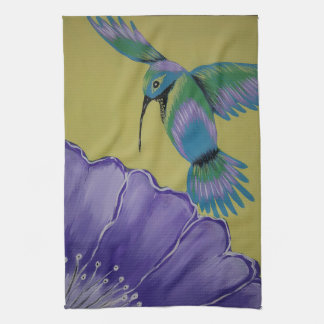 Humming Bird Kitchen Towel