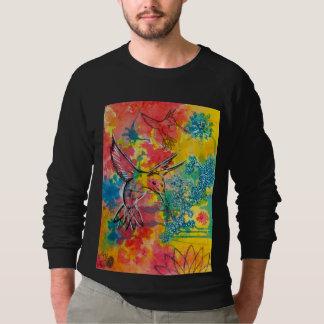 humming bird water color shirts