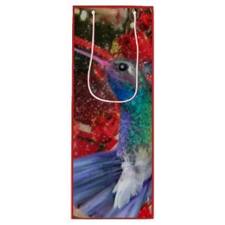 Humming Bird Wine Bag