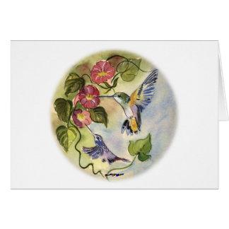 Humming Birds Card