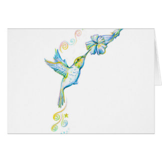 "Humming Your Favorite Tune - Note Card - 5.6"" x 4"""