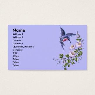 Hummingbird 2 Business Cards