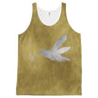 Hummingbird All-Over Print Tank Top