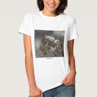 Hummingbird and Apple Blossoms Martin J. Heade T-shirt