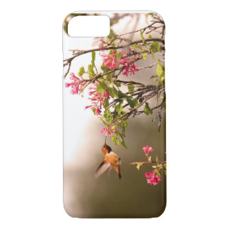 Hummingbird and Flowers iPhone 8/7 Case