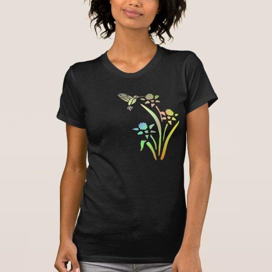 Hummingbird  And Flowers Shirt