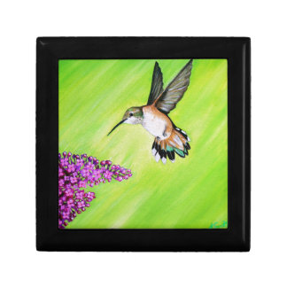 Hummingbird and Lilac Gift Box