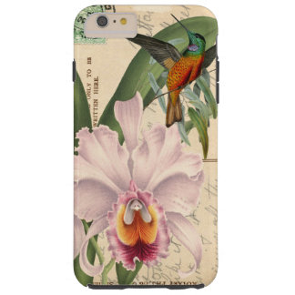Hummingbird and Orchid Tough iPhone 6 Plus Case