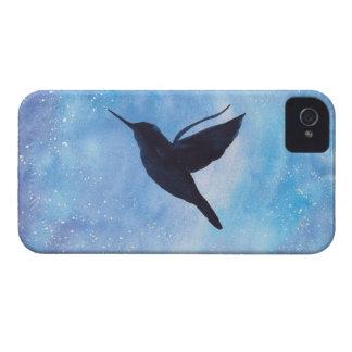 Hummingbird At Night iPhone 4 Cover