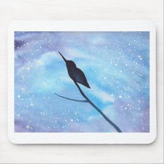 Hummingbird At Night Mouse Pad