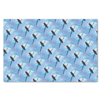 Hummingbird At Night Tissue Paper