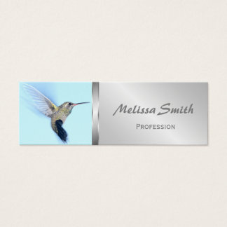 Hummingbird Bird Cute Animal Mini Business Card